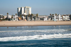 Venice Beach Skyline Stock Image