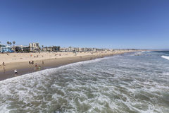 Venice Beach Summer Afternoon in Los Angeles California Royalty Free Stock Image