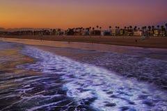 Venice Beach sunset Stock Photos