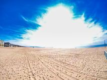 Venice beach in west coast stock photography