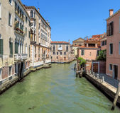 Venice - Beautiful canal in Venice Royalty Free Stock Photography