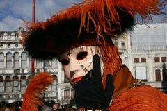 Venice. Beautiful mask of Venice carnival Italy 1 Stock Photo