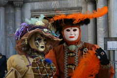 Venice. Beautiful masks of Venice carnival Italy Stock Photography