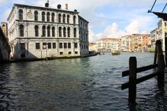 Venice. Beautiful Venice in sun day , Canal Grande Royalty Free Stock Image