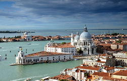 Venice. Beautiful Venice under cloudly skies Stock Photography