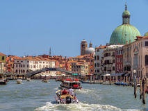 Venice - Beautiful view from Grand Canal Royalty Free Stock Photos