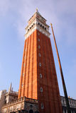 Venice bell tower Royalty Free Stock Photos