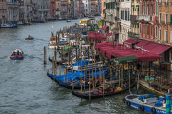 Venice Bend. View from a bridge to Venice Canal Stock Photography