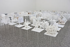 Venice Biennale 2012: Hungary Pavilion Stock Photography