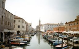 Venice Big Channel Royalty Free Stock Photography