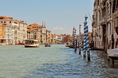 Venice. The big channel Stock Photos