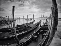 Venice. In black and white Stock Images