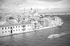 Venice in black and white, Venice Italy Royalty Free Stock Photography