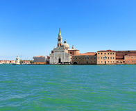 Venice on blue Royalty Free Stock Image