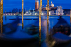Venice in blue hour Royalty Free Stock Photo