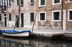 Venice boat Stock Images