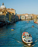 Venice boat excursion Stock Photography