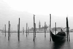 Venice. Boat on river Royalty Free Stock Photography