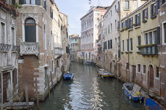 venice boats Royalty Free Stock Photos