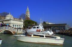 Venice boats Stock Image