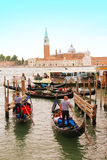 Venice boats Royalty Free Stock Photo