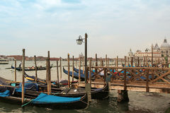 Venice boats Royalty Free Stock Images