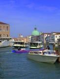 Venice boats Royalty Free Stock Photography