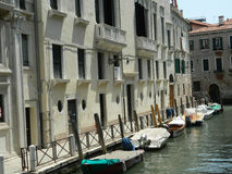 Venice boats Royalty Free Stock Photography