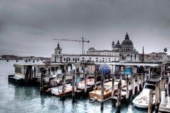 Venice boats Stock Photo