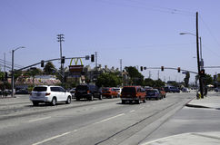 Venice Boulevard Royalty Free Stock Image