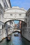 Venice, bridge. The Bridge of Sighs (Italian: Ponte dei Sospiri) is in Venice, Italy. It connects the New Prison to the interrogation rooms in the Doge's Palace royalty free stock photos