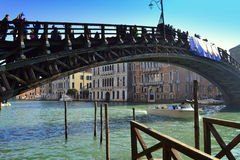 Venice bridge stock photo