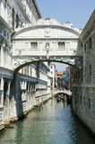 Venice - Bridge of Sighs Royalty Free Stock Images