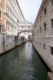 Venice. Bridge of sighs Royalty Free Stock Photography