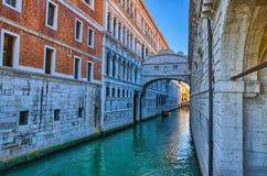 Venice - Bridge of Sighs, Ponte dei Sospiri, Italy Royalty Free Stock Photography