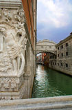 Venice. The Bridge Of Sighs. Royalty Free Stock Photography