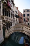 Venice Bridge. On a Sunny Clear day, Italy Royalty Free Stock Image