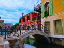 Venice - Bridges & Canals Royalty Free Stock Photo