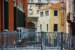 Venice and bridges, Europe Stock Image