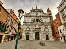 Venice buildings. Traditional buildings in Venice, Italy Royalty Free Stock Photo