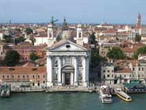 Venice buildings. Italy, roofs of venice Royalty Free Stock Photos