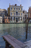 Venice builing Grand Canal, Italy Royalty Free Stock Photo