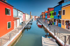 Venice Burano Royalty Free Stock Images