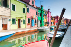 Venice Burano Stock Photos