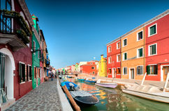 Venice Burano Stock Photo