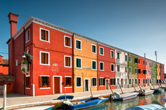 Venice Burano Royalty Free Stock Photography