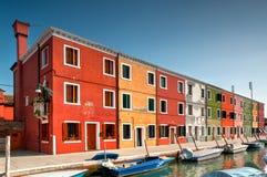 Venice Burano Royalty Free Stock Photography