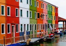 Venice, Burano island Stock Photo