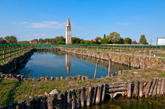 Venice Burano Mazorbo vineyard Stock Image