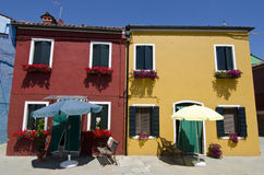 Venice - Burano Royalty Free Stock Photos